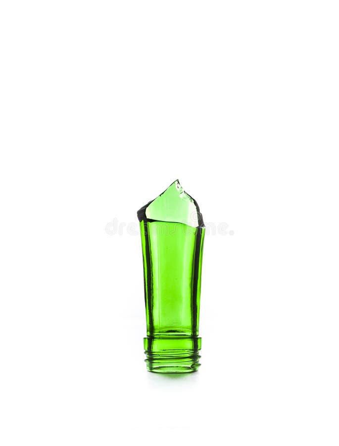 Gebroken flessensteel, een barschrijver uit de klassieke oudheid. royalty-vrije stock afbeeldingen