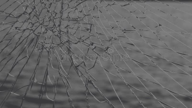 Gebroken Glas stock illustratie