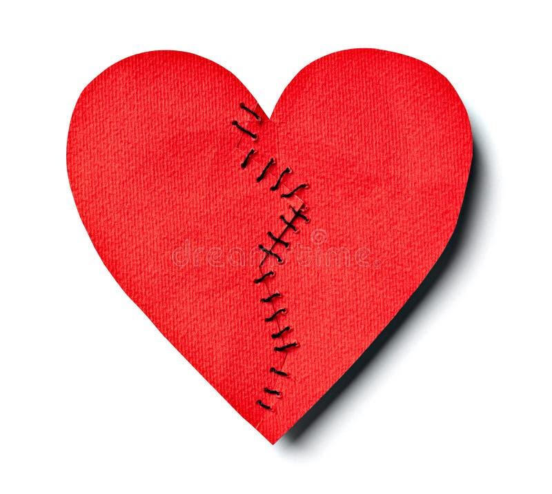 Gebroken hart royalty-vrije stock foto