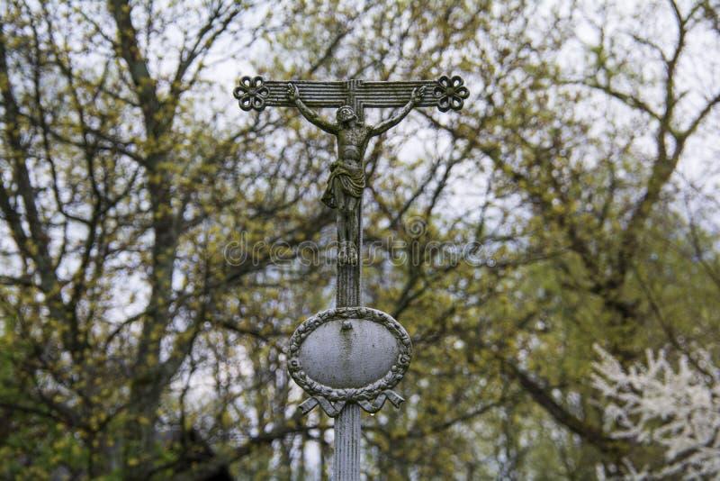 Gebroken Kruis royalty-vrije stock afbeeldingen