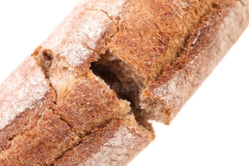 Gebroken lang brood royalty-vrije stock foto's