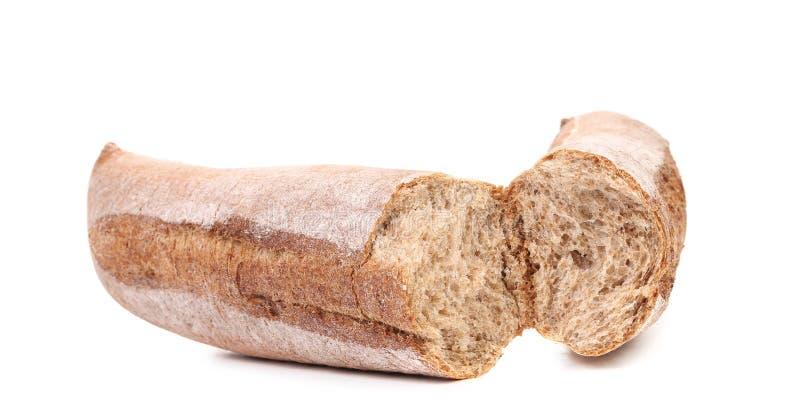 Gebroken lang bruin brood stock afbeeldingen