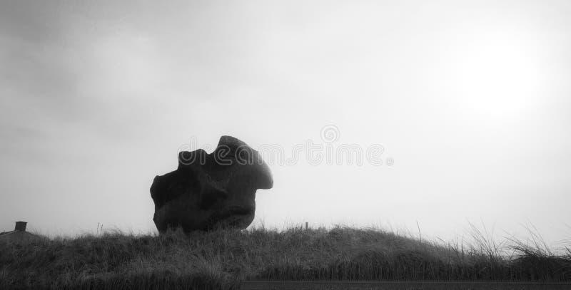 Gebroken Masker - Scheveningen stock fotografie