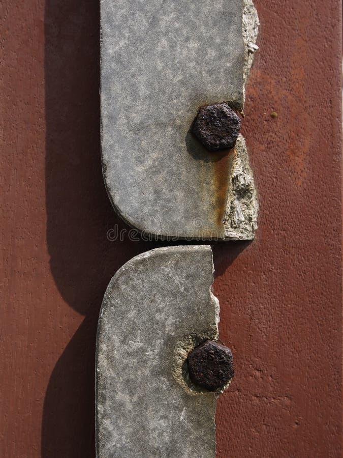 Gebroken steen royalty-vrije stock afbeeldingen