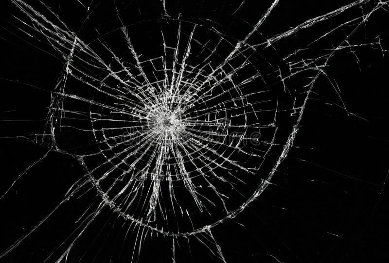 Gebroken venster royalty-vrije stock fotografie