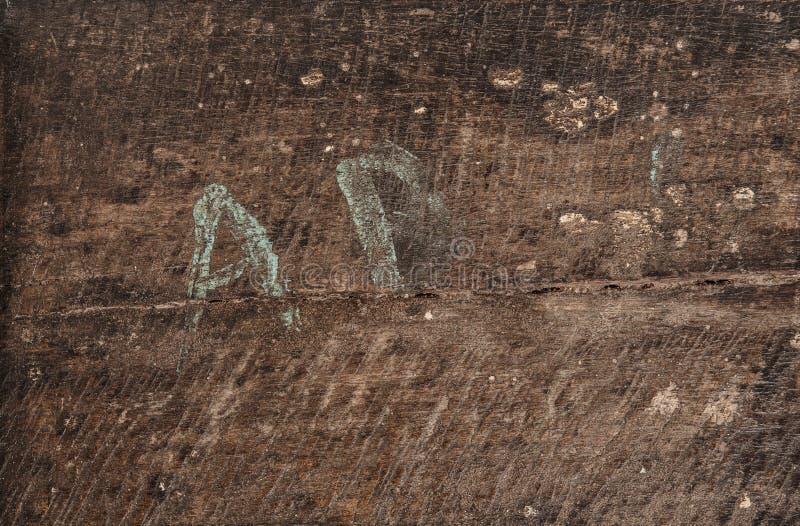 Gebruikt kijk houten textuurachtergrond abstracte achtergrond stock afbeelding
