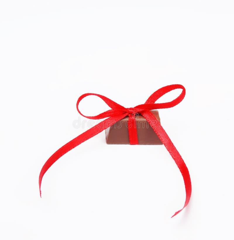 Gebundene Knotenschokolade lizenzfreies stockbild