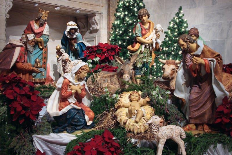 Geburt Christi -   stockbild