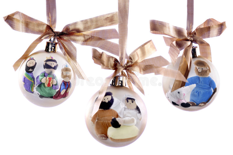 Geburt Christi-Verzierung lizenzfreie stockfotos