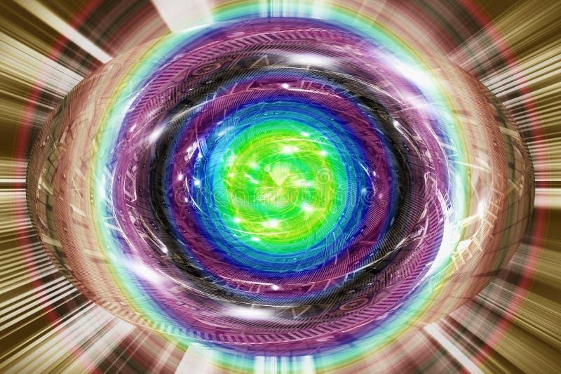 Geburt von Energie stockbilder
