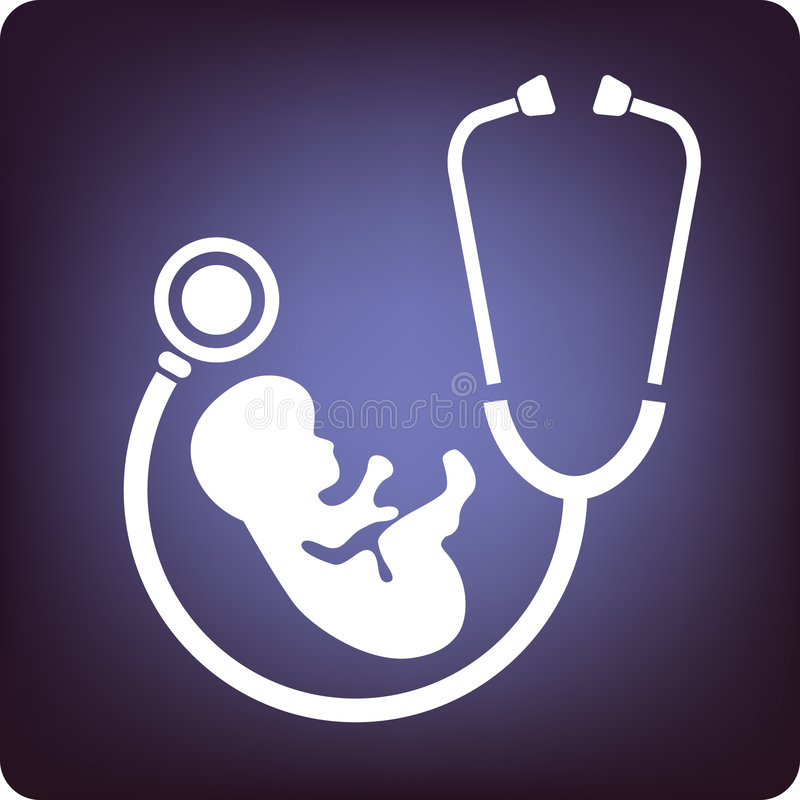 Geburtshilfe vektor abbildung