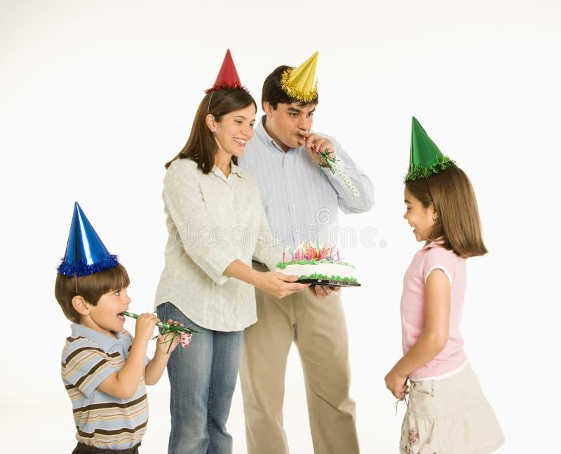 Geburtstag des Mädchens. stockfoto