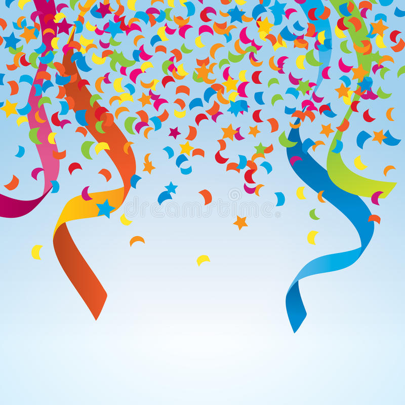 Geburtstag feiern lizenzfreie abbildung
