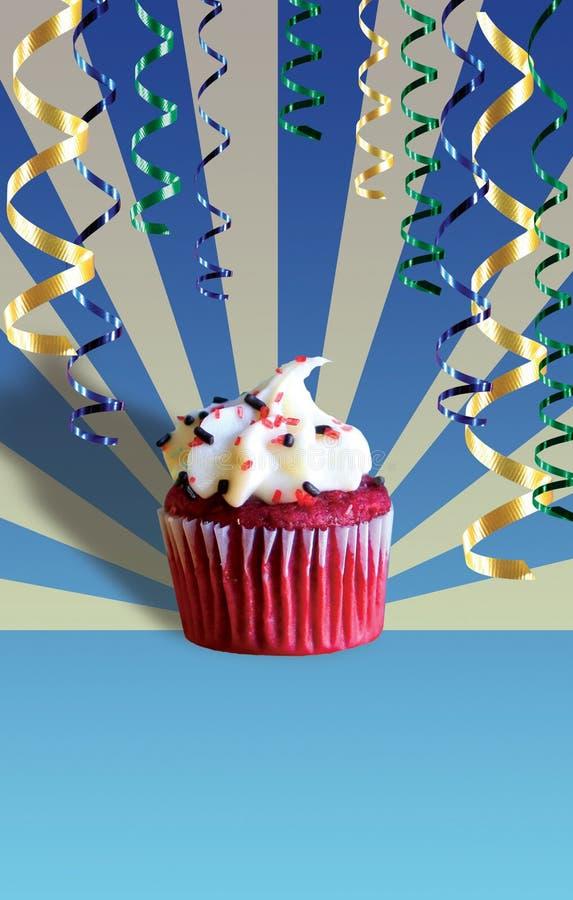 Geburtstag-kleiner Kuchen lizenzfreies stockbild