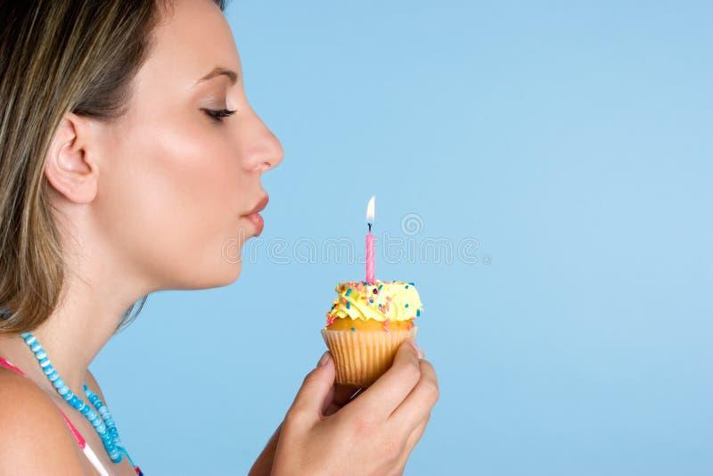 Geburtstag-Mädchen lizenzfreies stockbild