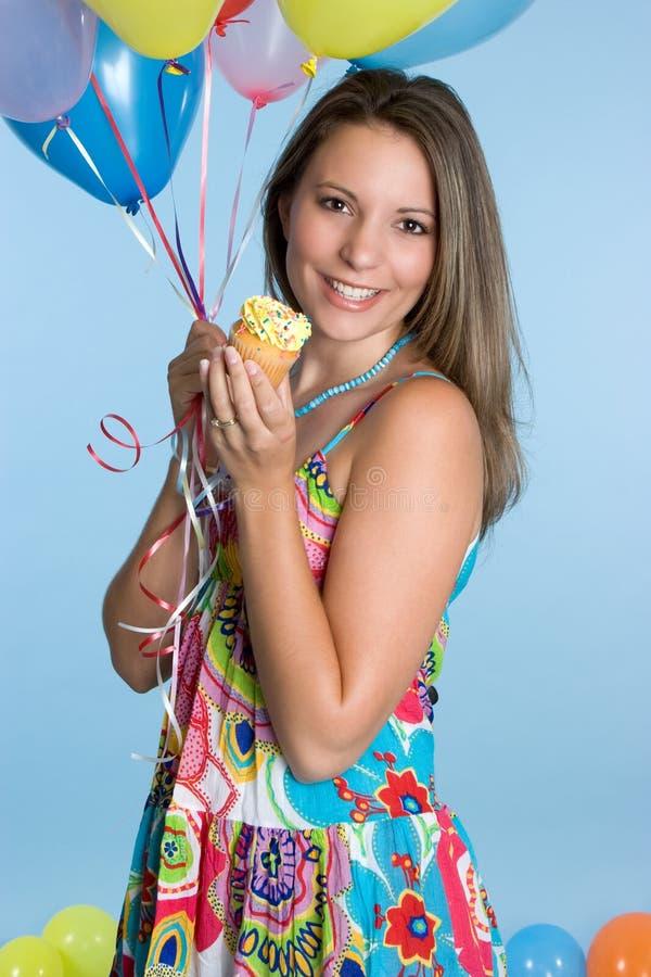 Geburtstag-Mädchen lizenzfreie stockbilder
