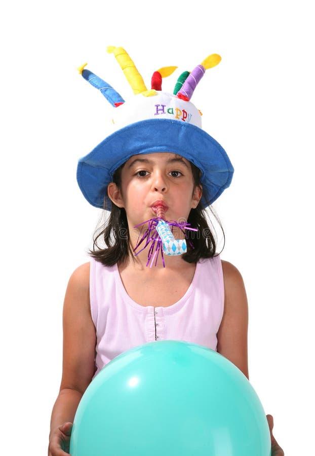 Geburtstag-Mädchen lizenzfreie stockfotografie