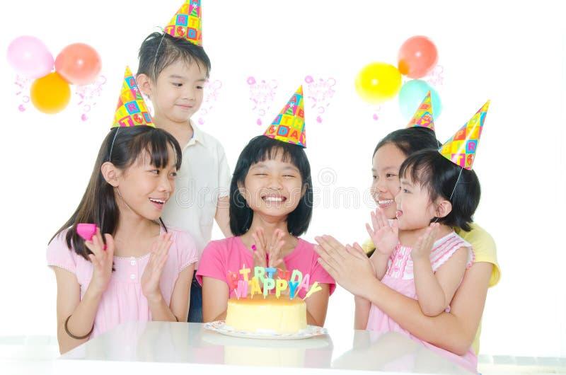 Geburtstags-Feier stockbild