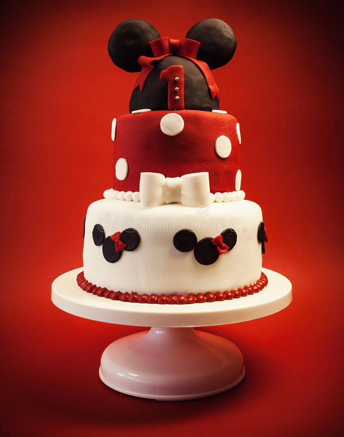 Geburtstags-Kuchen für Baby lizenzfreie stockfotografie