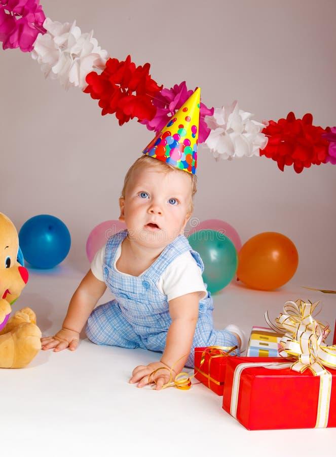 Geburtstagschätzchen stockbild