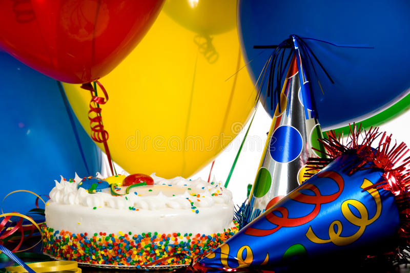 Geburtstagsfeier! stockfoto