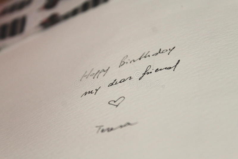 Geburtstagsgeschenk lizenzfreies stockbild