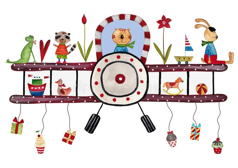Geburtstagsgrußkarte Lizenzfreie Stockfotos