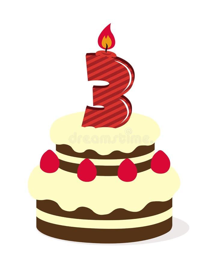 Kuchen Mit Kerzen Clipart Lizenzfrei Gograph