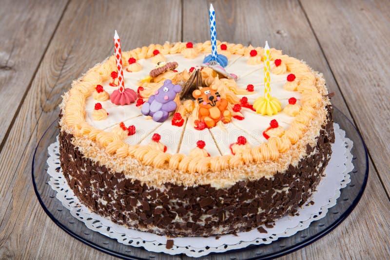 Geburtstagskuchen drei