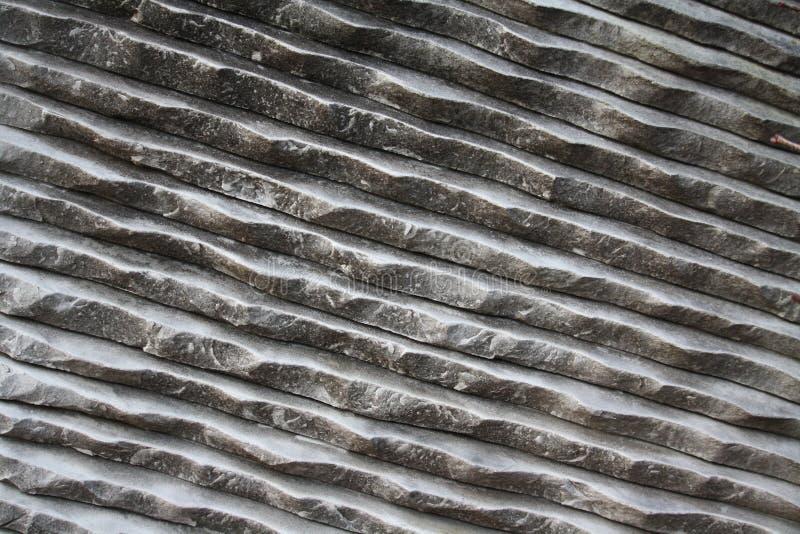 Gecanneleerd wit marmer stock foto