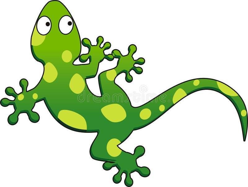 Gecko ilustração royalty free