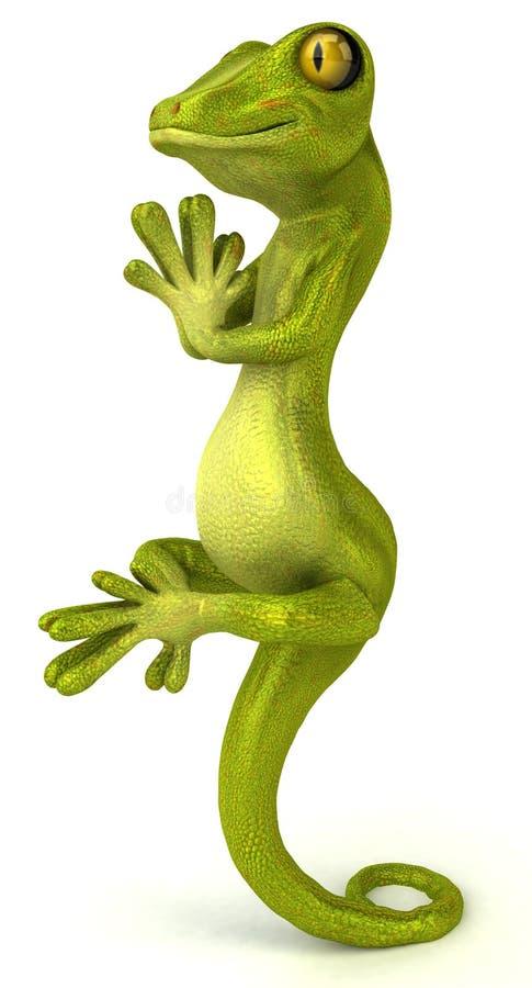 Gecko vektor abbildung