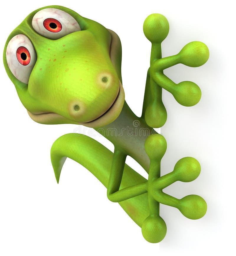Gecko ilustración del vector