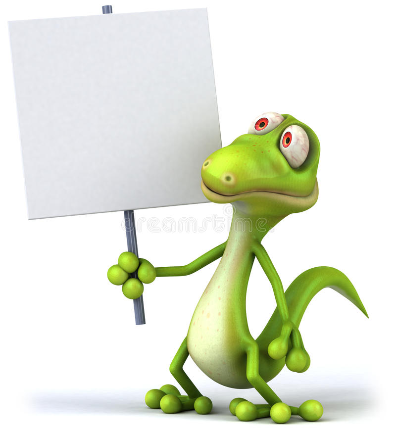 gecko stock illustrationer