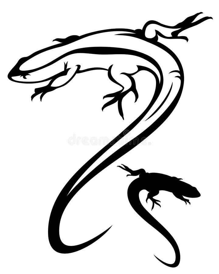 Gecko stock abbildung