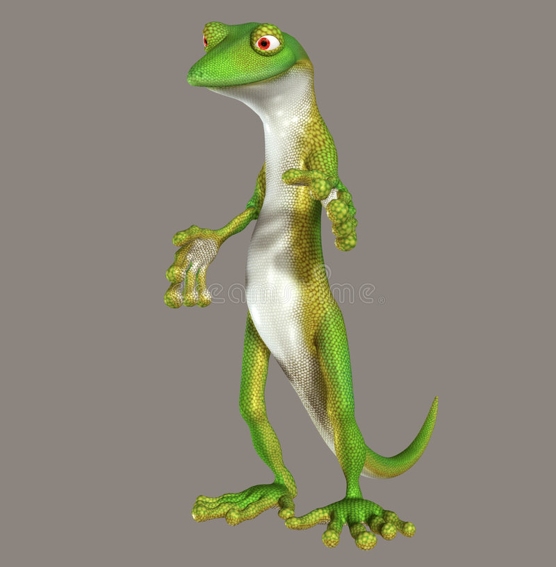 gecko stock illustrationer