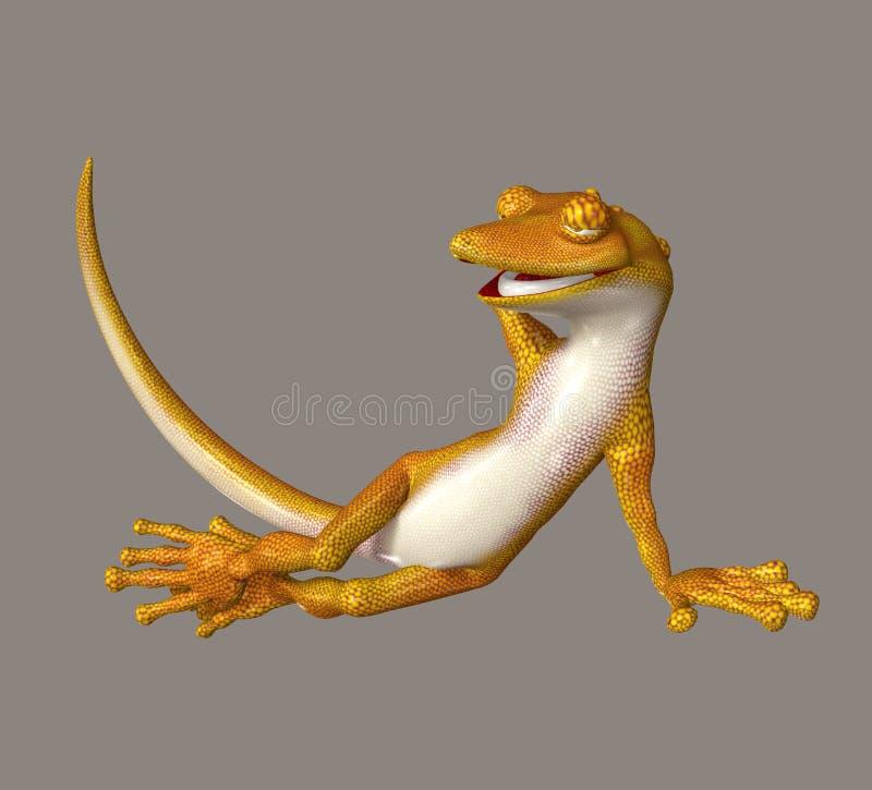 Gecko ilustração do vetor