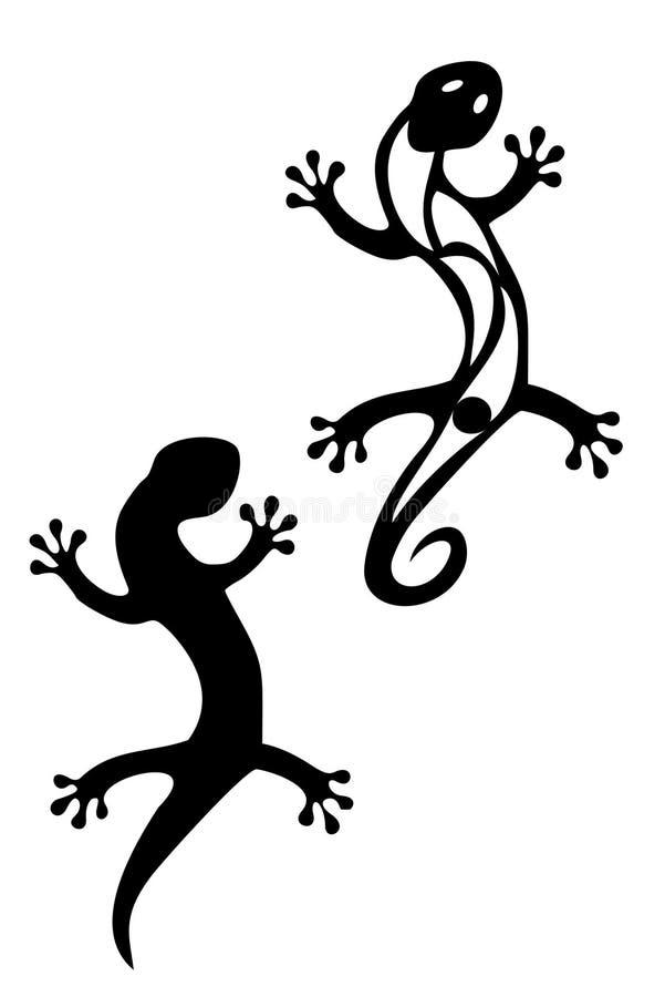 Gecko royalty illustrazione gratis