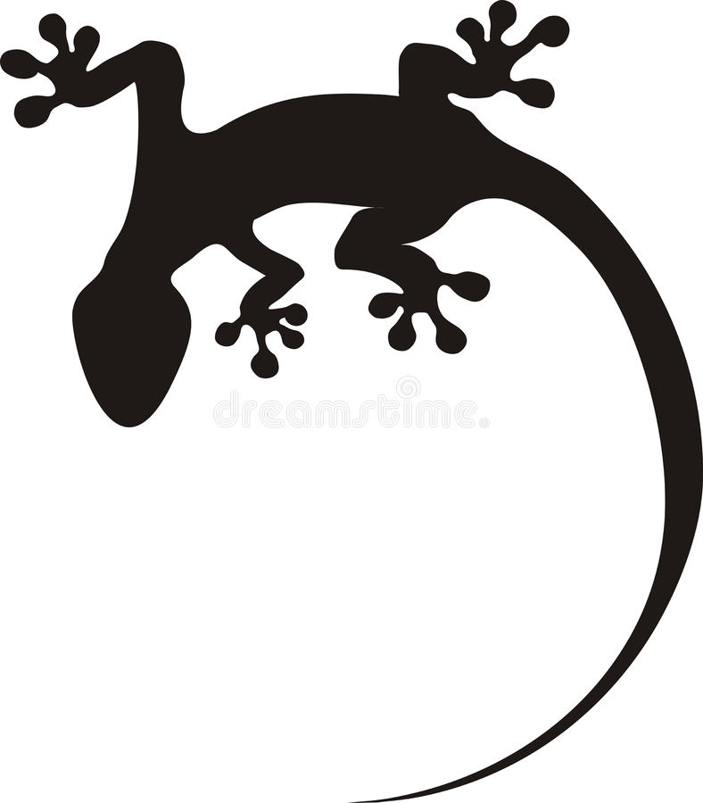Download Gecko tattoo stock photo. Image of lizard, isolated, design - 28110484
