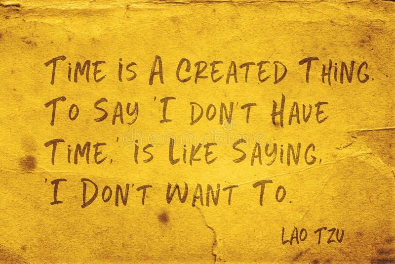 Gecreeerd ding Lao Tzu stock illustratie