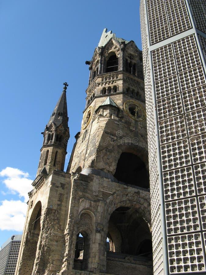 Gedächtniskirche Berlino immagine stock libera da diritti