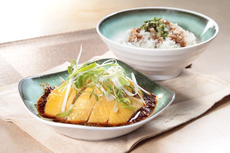 Gedämpfte Küche der chinesischen Art Hühner stockfoto