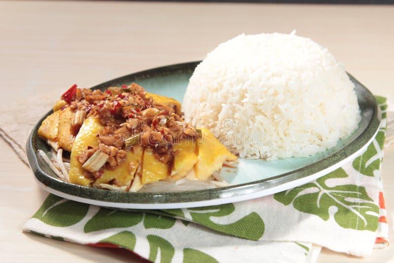 Gedämpfte Küche der chinesischen Art Hühner lizenzfreies stockbild