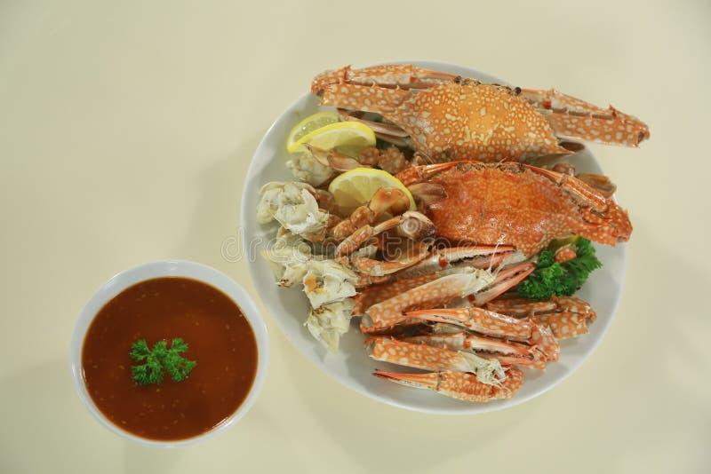 Gedämpfte Krabbe lizenzfreies stockbild