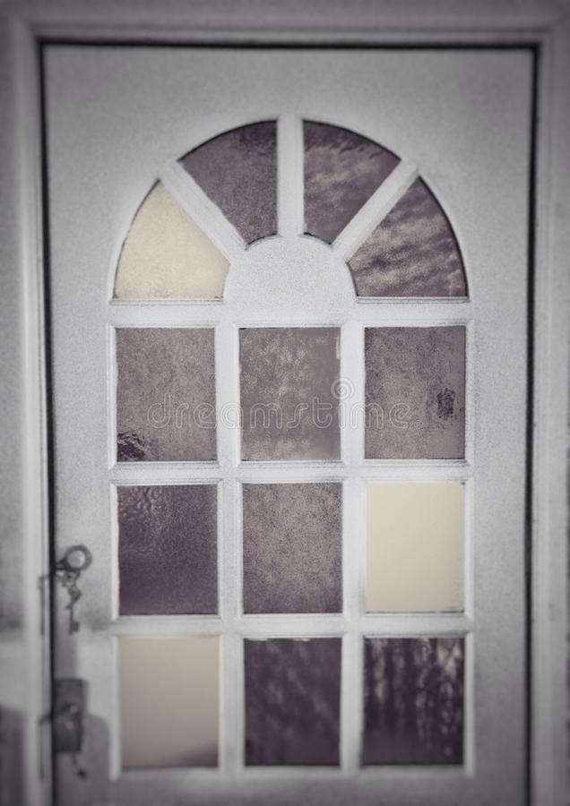 Gedämpfte Tür stockbilder