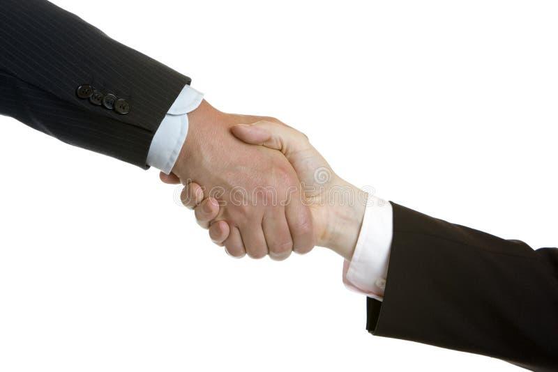 Gedaane overeenkomst stock fotografie