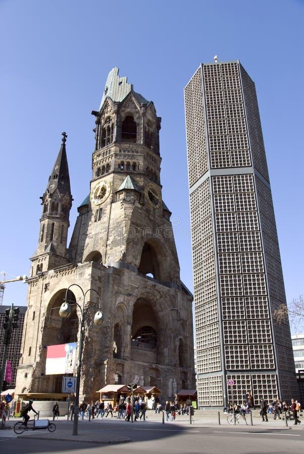 gedaechtniskirche berlin стоковое фото