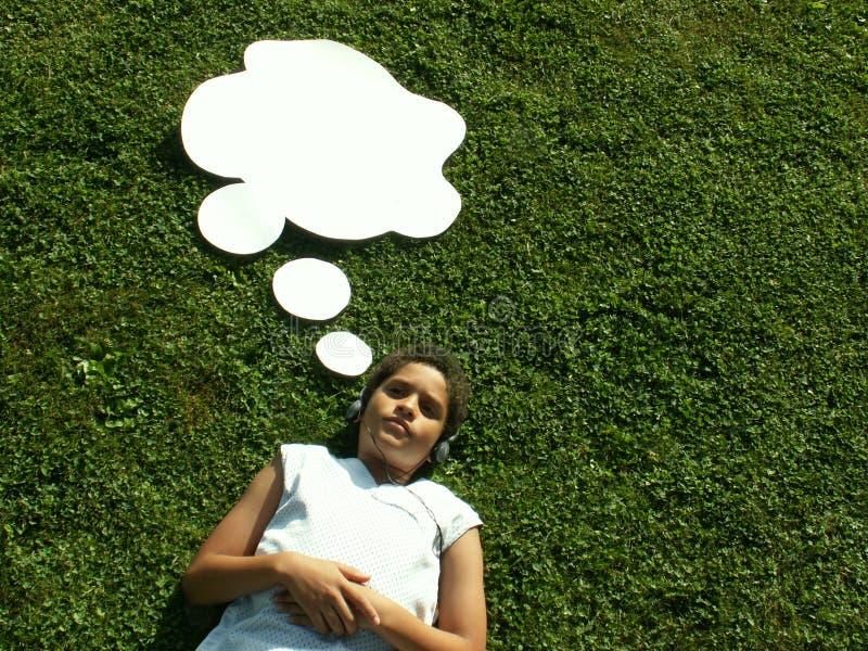 Gedanken Des Sommers? Lizenzfreies Stockfoto