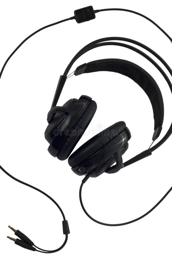Gedeeltelijk bebouwde hoofdtelefoon stock afbeelding