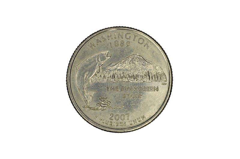 Gedenkmünze Vereinigter Staaten stockfoto